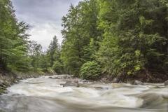 Gebirgsbach mit Hochwasser - ©Ralph Sturm